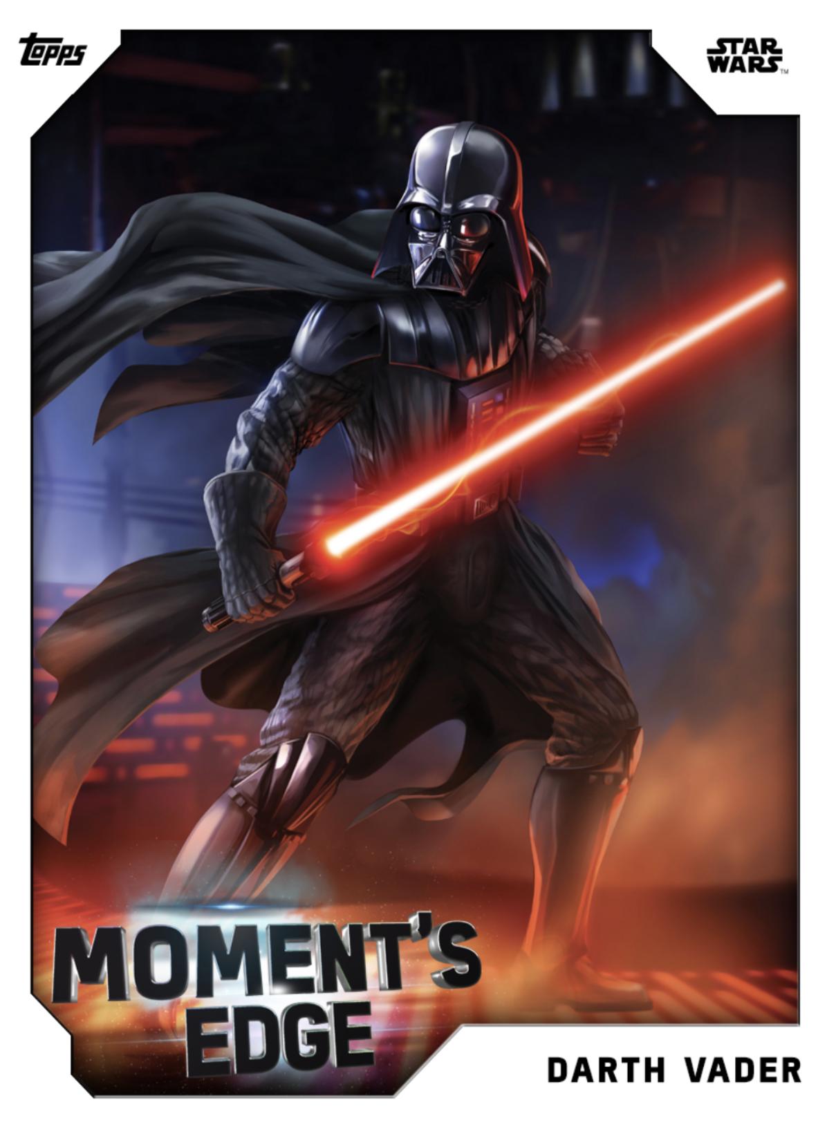 Darth Vader Moment S Edge Star Wars Card Trader Wiki Fandom
