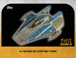 A-wing Starfighter 1 - Star Wars Rebels: Retro