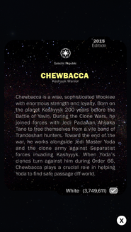 Chewbacca-KashyyykWarrior-White-Back
