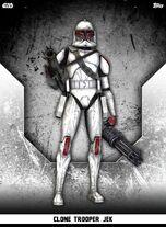 Clone Trooper Jek - Rank & File