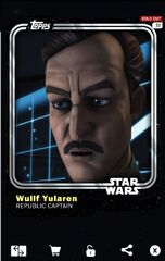 Wullf Yularen - Republic Captain - Base Series 1