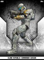 Clone Republic Commando Gregor - Rank & File