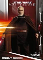 Count Dooku - Star Wars: Masterwork - The Dark Side