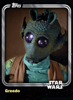 Greedo - Bounty Hunter - Base Series 1