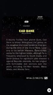 CadBane-BountyHunter-White-Back