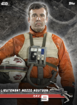 Lieutenant Nozzo Naytaan (Red 9) - Star Wars: Rogue One - Standing By