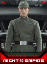 Lieutenant Tobix Chasser - Might of the Empire