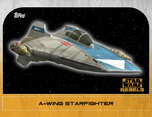 A-wing Starfighter 3 - Star Wars Rebels: Retro