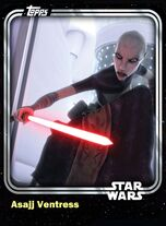 Asajj Ventress - Separatist Assassin - Base Series 1