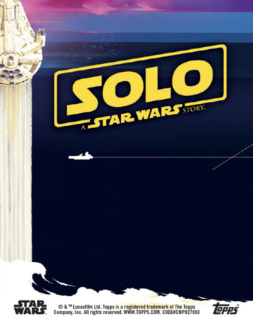 Solo: A Star Wars Story - Physical Base