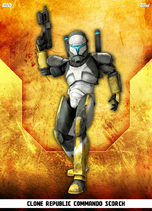 Clone Republic Commando Scorch - Rank & File