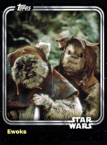 Ewoks - Creature - Base Series 1