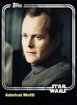 Admiral Motti - Imperial Officer - Base Series 1