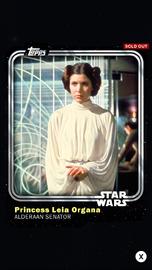 Princess Leia Organa - Alderaan Senator - Base Series 1