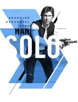 Smuggler Scoundrel Hero Han Solo - Action Accents Series 1