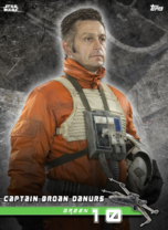 Captain Broan Danurs (Green 10) - Star Wars: Rogue One - Standing By