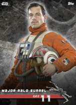Major Ralo Surrel (Red 11) - Star Wars: Rogue One - Standing By