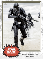 Death Trooper in the water - Base Series 4