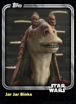 Jar Jar Binks - Galactic Senate - Base Series 1