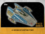 A-wing Starfighter 4 - Star Wars Rebels: Retro