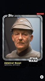 Admiral Ozzel - Imperial Officer - Base Series 1