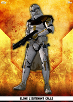 Clone Lieutenant Galle - Rank & File