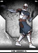 Clone Commander Fil - Rank & File