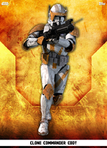 Clone Commander Cody - Rank & File
