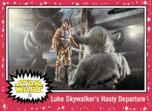 Luke Skywalker's Hasty Departure - Journey to the Rise of Skywalker - Base - Hope