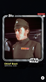 Chief Bast - Imperial Aide - Base Series 1