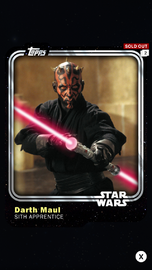 Darth Maul - Sith Apprentice - Base Series 1