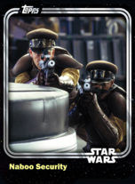 Naboo Security - Galactic Republic - Base Series 1