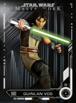 Quinlan Vos - Star Wars: Masterwork - Base