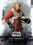 C'ai Threnalli — Star Wars: The Rise of Skywalker Series 1 Base