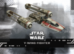 Y-Wing Fighter - Star Wars: The Rise of Skywalker Series 1 Base