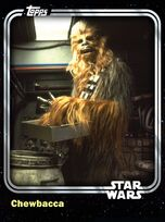 Chewbacca - Wookiee Co-Pilot - Base Series 1