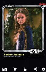 Padmé Amidala - Senator of Naboo (AOTC) - Base Series 1