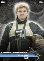 Farns Monsbee (Blue 5) - Star Wars: Rogue One - Standing By