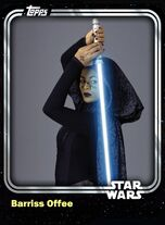 Barriss Offee - Jedi Padawan - Base Series 1