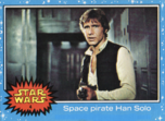 Space pirate Han Solo - 1977 - Blue