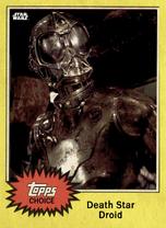Death Star Droid - Topps Choice 2