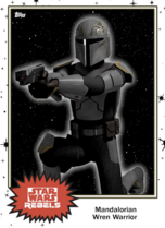 Mandalorian Wren Warrior - Base Series 4 - Rebels
