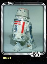 R5-D4 - Astromech Droid - Base Series 1