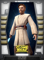 Obi-Wan Kenobi (Clone Wars) - 2020 Base Series 2