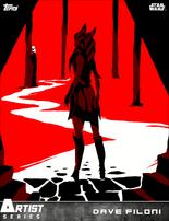 3 (Ahsoka Tano) - Artist Series - Dave Filoni