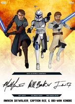 Anakin Skywalker, Captain Rex, & Obi-Wan Kenobi - Rank & File