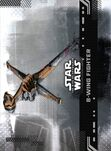B-Wing Fighter — Star Wars: The Rise of Skywalker Series 1 Base
