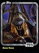 Boss Nass - Gungan Leader - Base Series 1