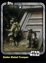 Endor Rebel Trooper - Rebel Alliance - Base Series 1