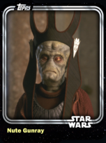 Nute Gunray - Trade Federation Viceroy (TPM) - Base Series 1